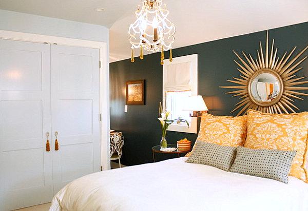 Stylish comforts in an elegant bedroom