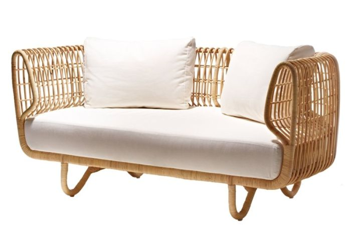 Stylish rattan indoor furniture from Cane-line