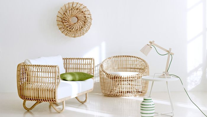 Sustainable woven rattan furniture Nest