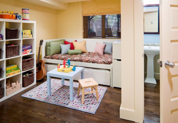 Turn that unused nook in the house into a simple playroom