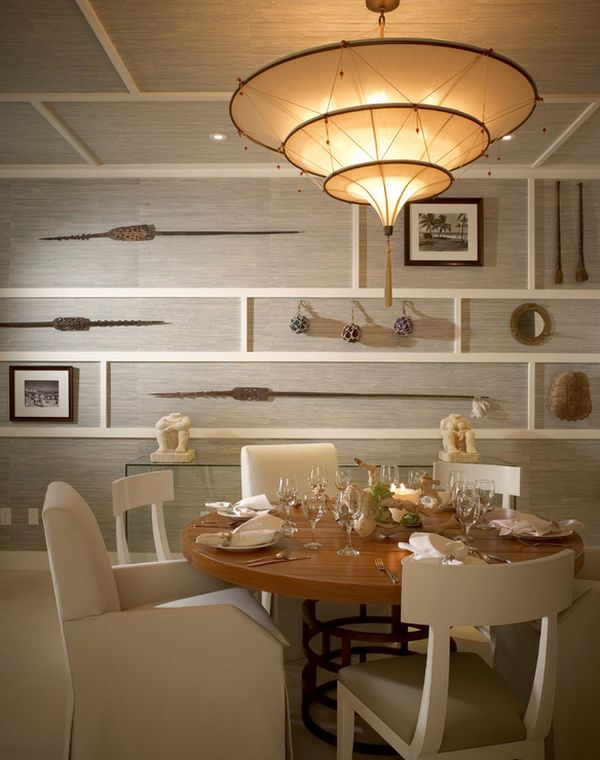 Wall decor create a sophisticated beachy atmosphere indoors