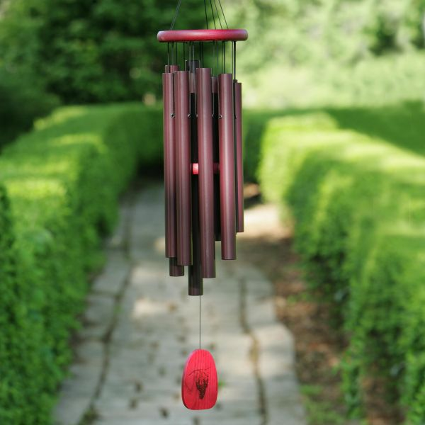 Add a wind chime or two for a relaxing vibe