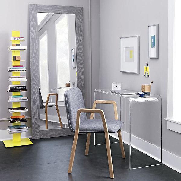Yellow modern bookcase