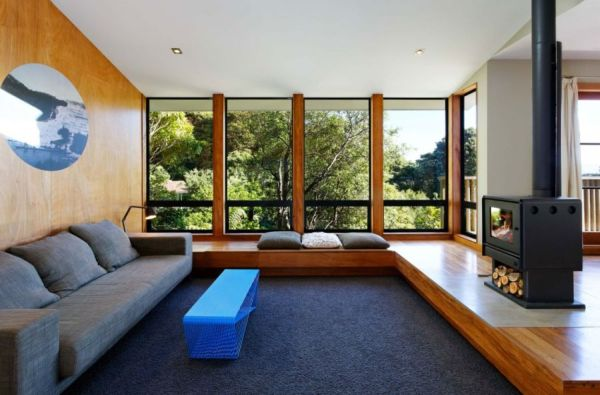 Warm Wooden Interior Accentuates A Welcoming Wellington Home!