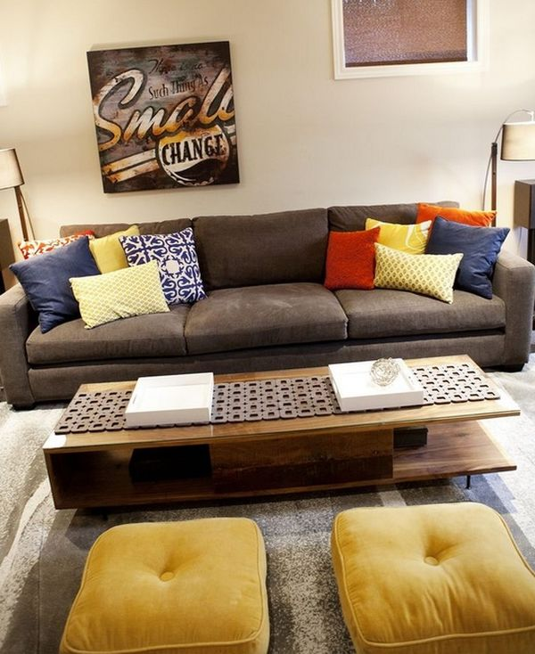 Floor Pillow To Watch Tv : Floor Pillows And Cushions: Inspirations That Exude Class And Comfort