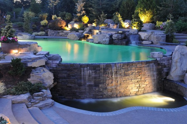 40 ultimate garden lighting ideas for Garden centre pool in wharfedale