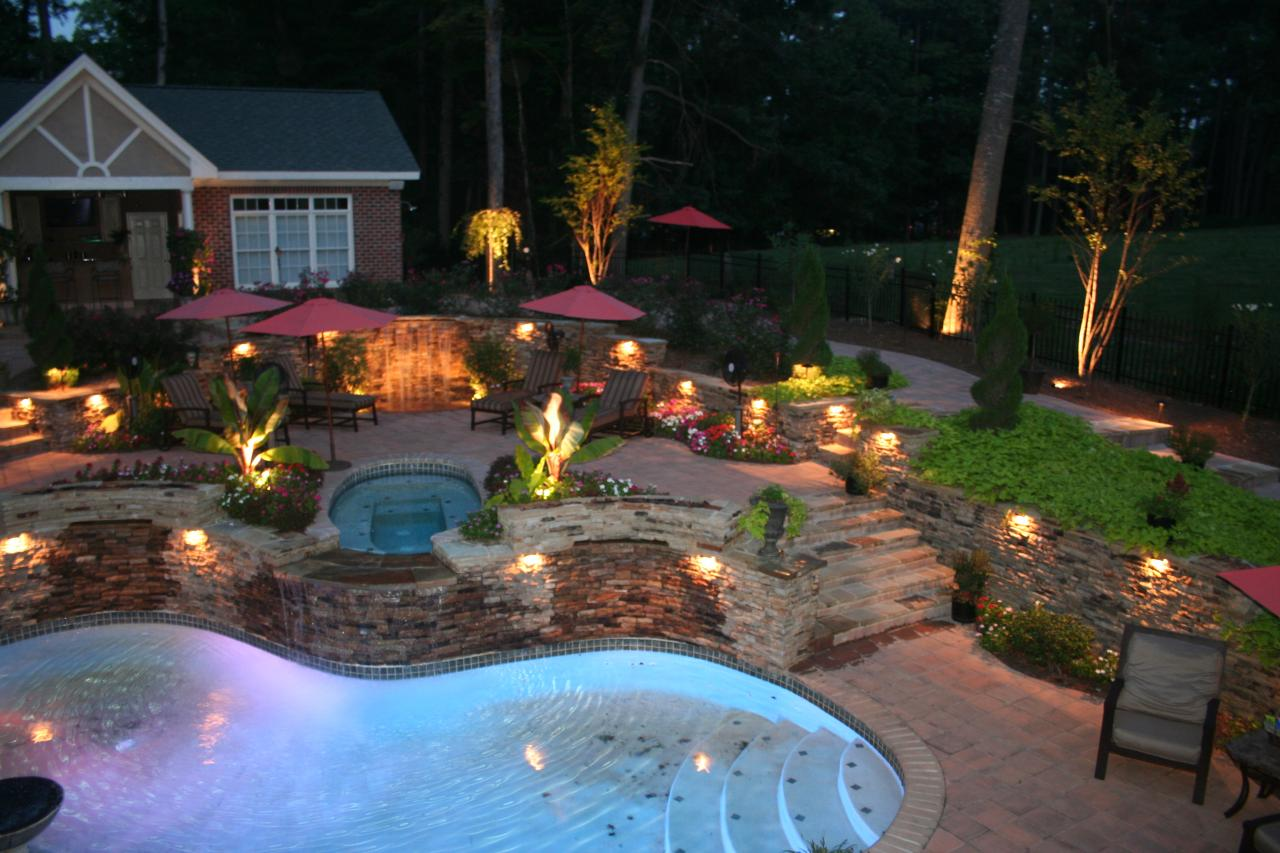 Outdoor Lighting Design Ideas outdoor landscape lighting ideas Cheap Backyard Lighting Ideas Lighting Ideas Pictures Outdoor Patio Lighti Published 3 Years Ago At 3200
