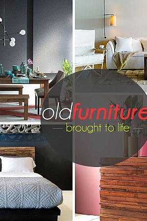 repurposed - old furniture
