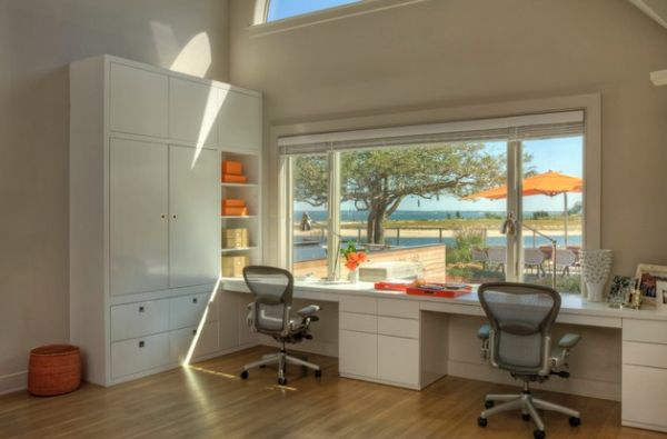 home office work office design. Perfect Design View In Gallery A Couple Of Aeron Chair And Plenty Natural Light  Brighten The Home Work Space In Home Office Work Design I