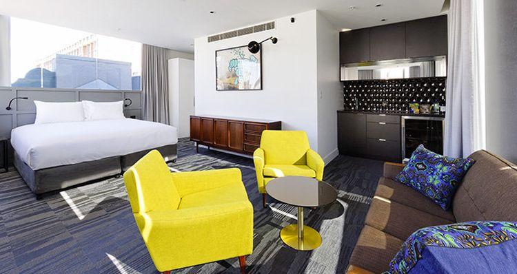 Attic suite at Hotel 1888