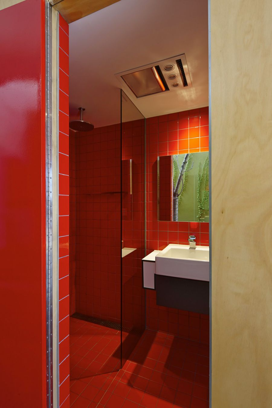 Red Bathroom Floor Tiles Palesten