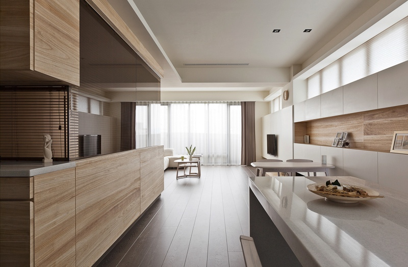 Great View In Gallery Beautiful Kitchen Counter White Organic And Minimalist  Interior Inspirations From The Far East.