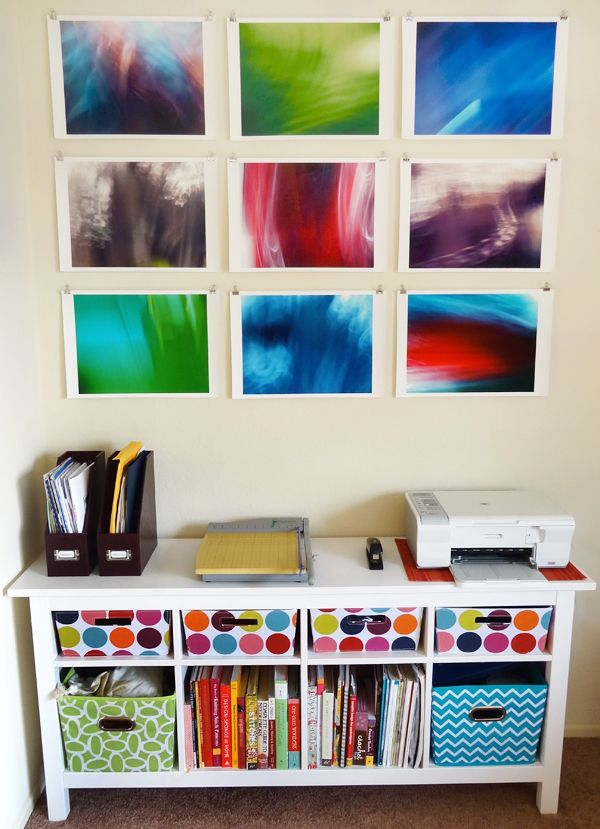 Beautiful photographs DIY wall art