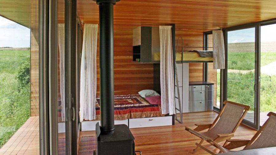 Bedroom of the Arado weeHouse