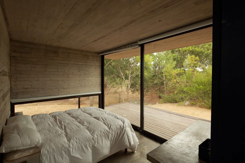 Bedroom with lovely views