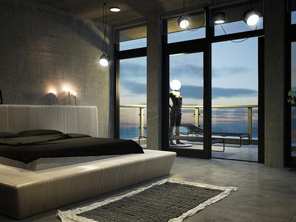 Bedrooms that seem designed for Halloween  (13)