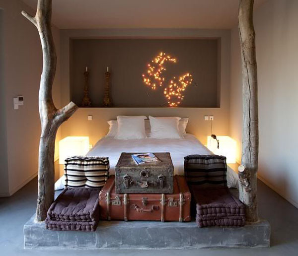 Bedrooms that seem designed for Halloween  (6)