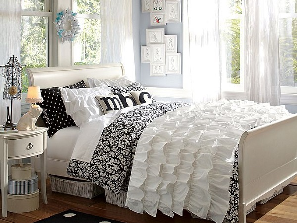 farmhouse gingham decor and bedding bed dorm plaid white designer ur door black