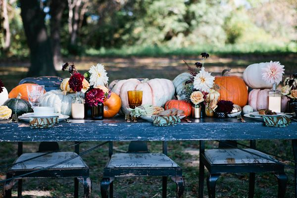 Bountiful fall table
