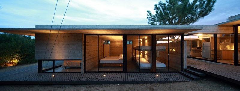 Bunk beds in the guest bedroom