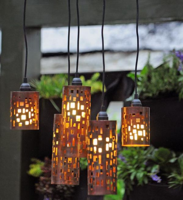 50 coolest diy pendant lights view in gallery candle holder pendant shades mozeypictures Gallery