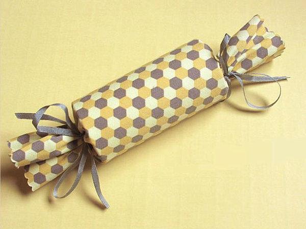 Cardboard tube gift wrap