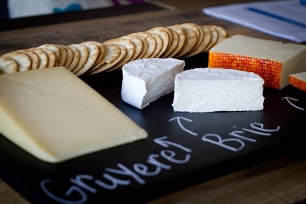 Chalkboard appetizer platter