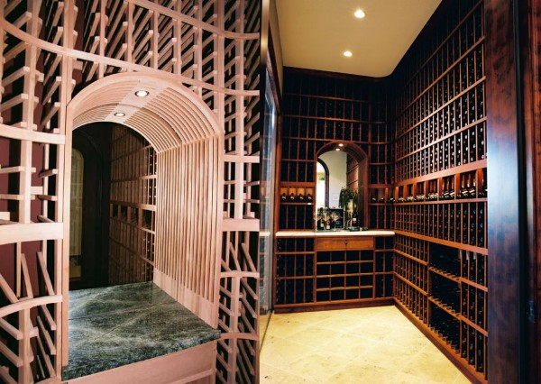 Chen wine cellar left-wine cellar in San Ramon right