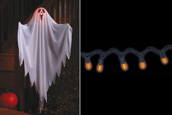 Classic outdoor Halloween decorations