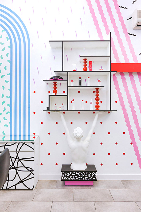 Delicious Interior Design Featuring Candy Colors And Bold