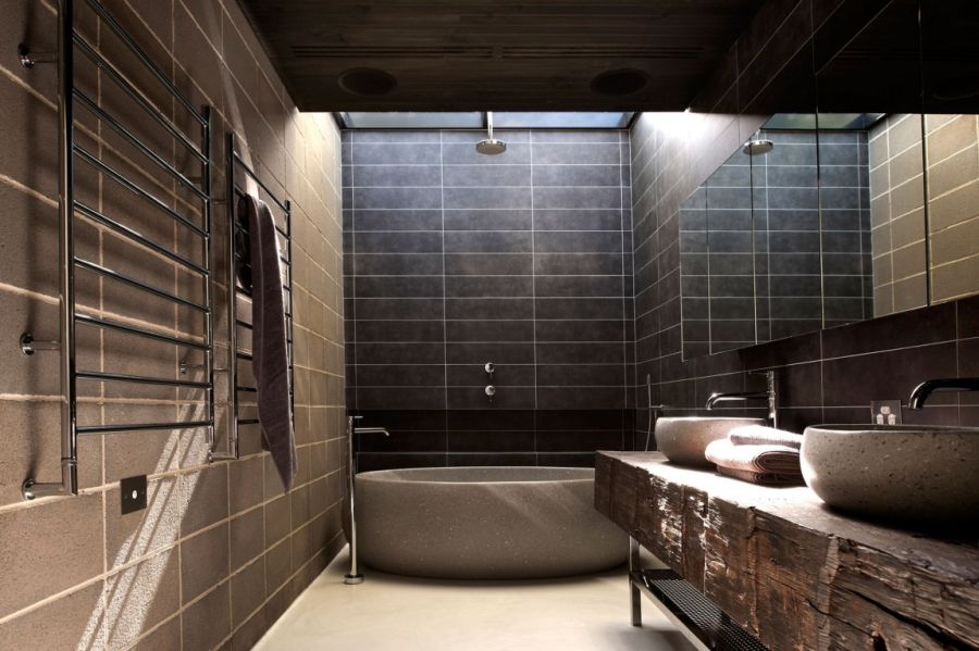 Contemporary bathroom of Melbourne House