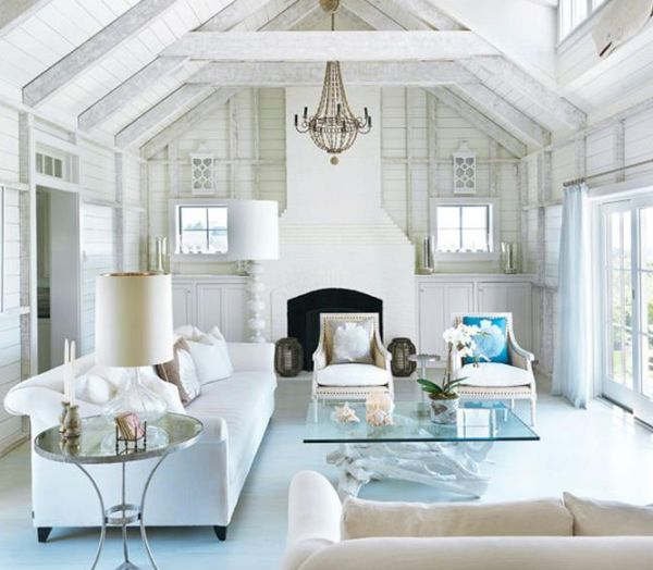 Coastal style interiors ideas that bring home the breezy for Interior designs for beach houses