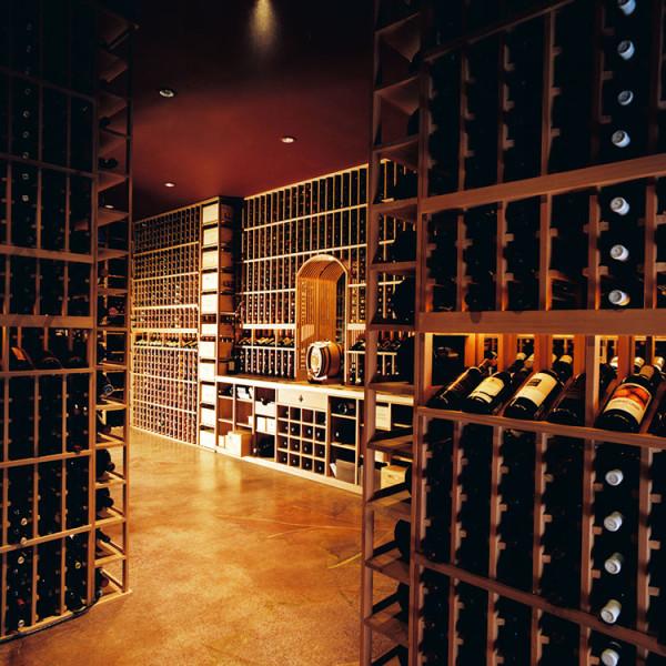 Crossroads wine cellar