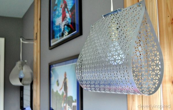 DIY Scrap Metal Light