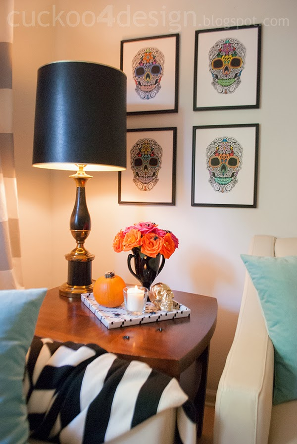 View In Gallery DIY Skull Wall Art For Halloween Part 65