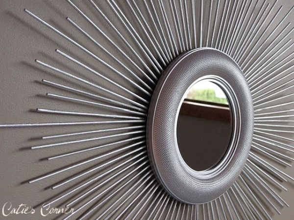 DIY sunburst mirror ideas