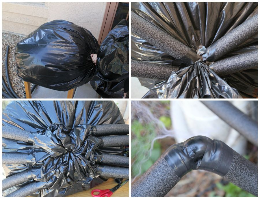 DIY tutorial for spider decorations halloween