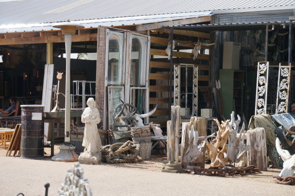 Architectural finds at a Texas antique show
