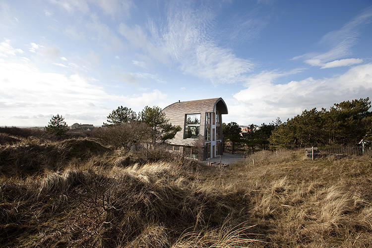 Dune House in Bergen, Holland