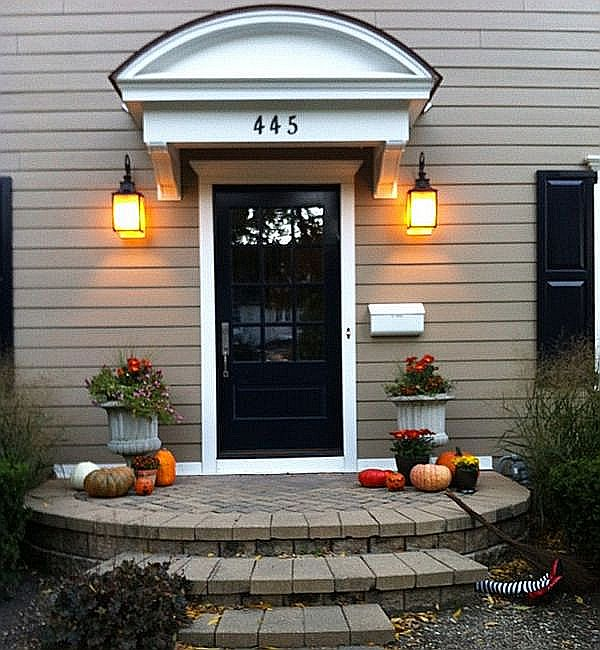Elegant entryway with a subtle hint of spookiness