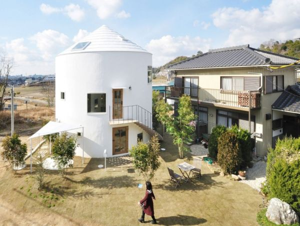 Cylindrical Japanese House Gives Classic Design A Contemporary Twist!