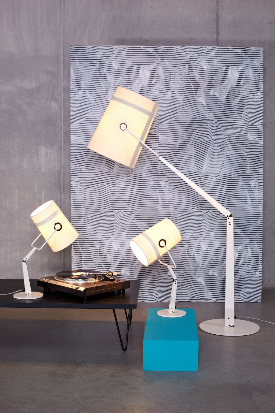 Fork table lamp from Foscarini