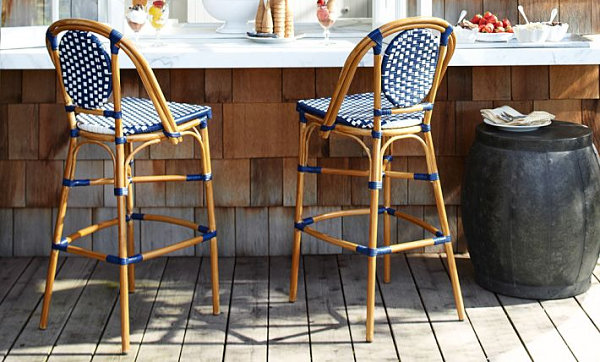 French cafe barstools