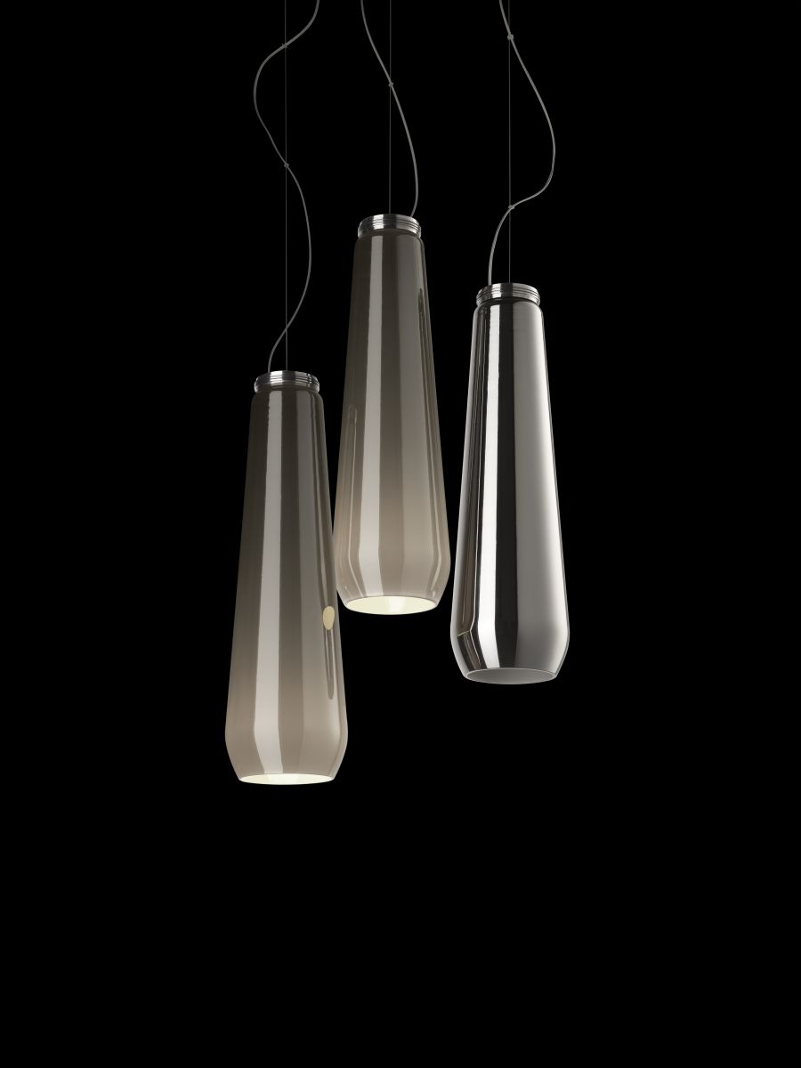 Gorgeous Glassdrop hanging lights from Foscarini