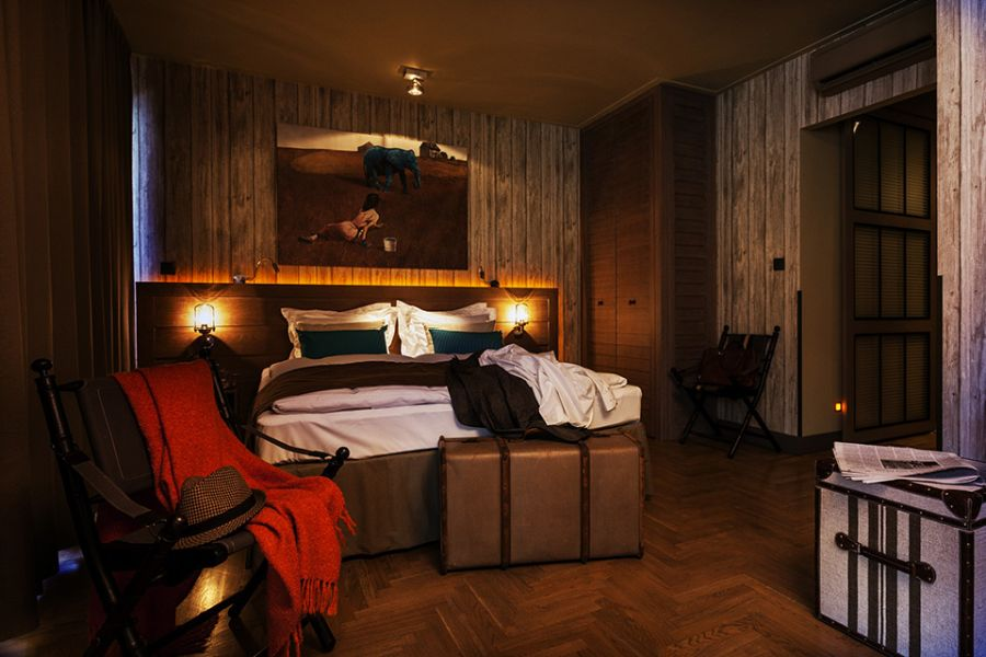 Gorgeous interiors of Baltzar Hotel in Budapest