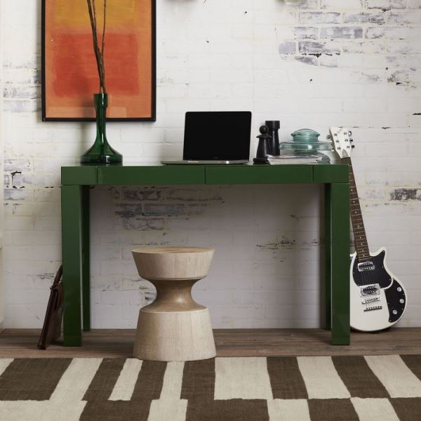 Green Parsons desk