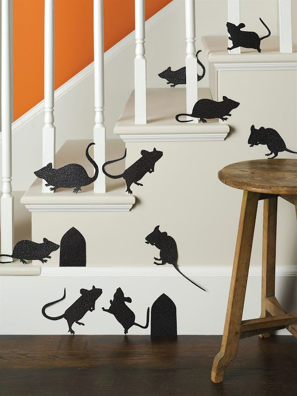 Halloween mice decals