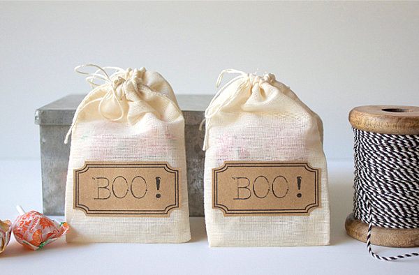 Halloween treat bags and printables