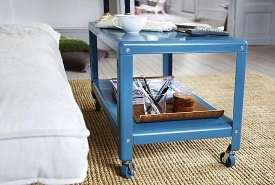 IKEA coffee table in blue