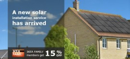 IKEA solar panels in UK
